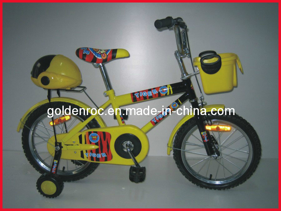 "16"" Steel Frame Kids Bike (1604)"