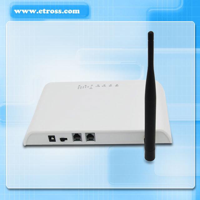 Etross 8848 GSM /PSTN FWT Gateway 1 FXS 1 FXO 1 GSM Module