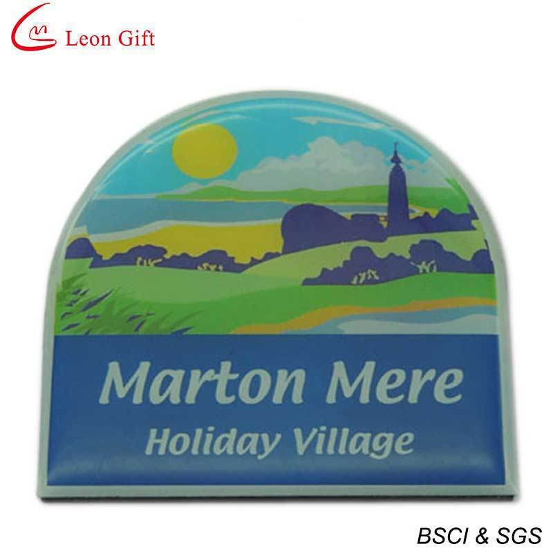 Hot Sale Print Logo Fridge Magnet for Advertising (LM1643)