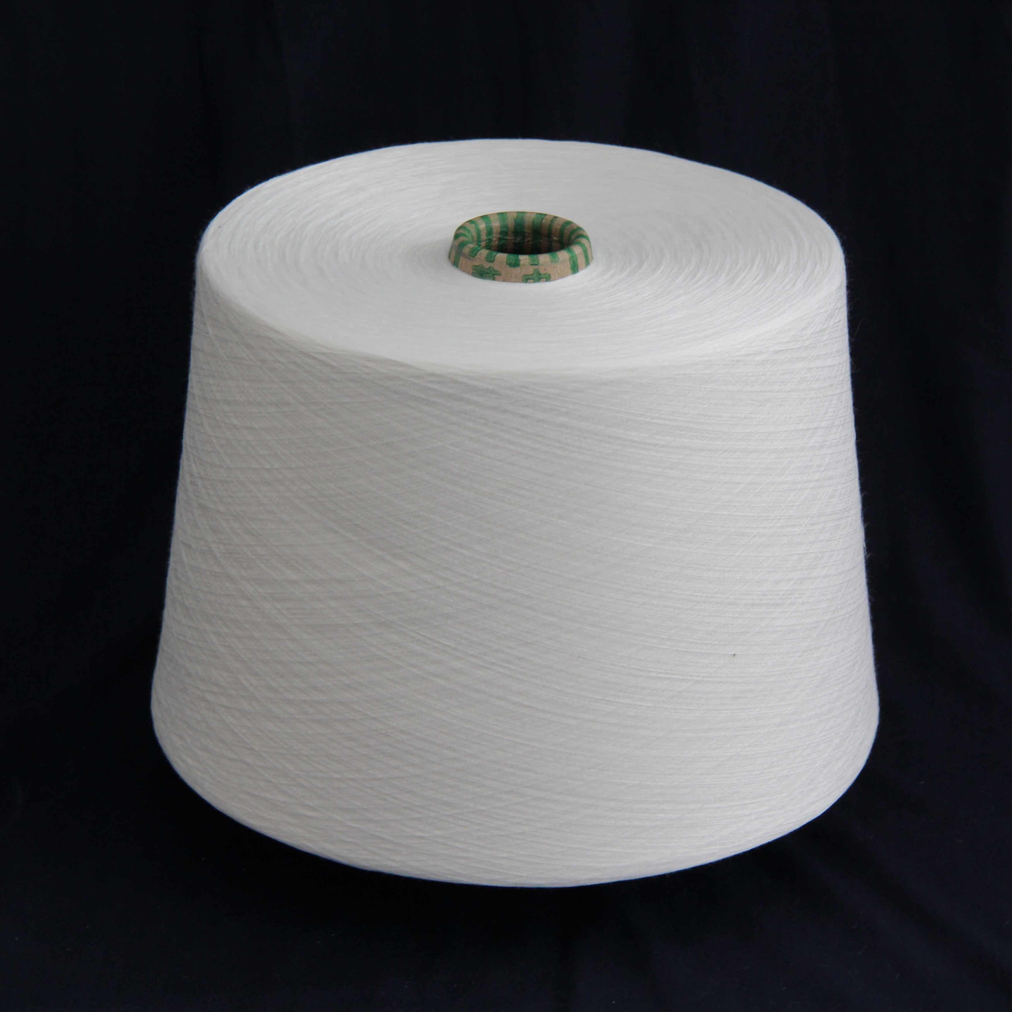 10s Terylene Blend Cotton Yarn for Knitting and Weaving 80/20