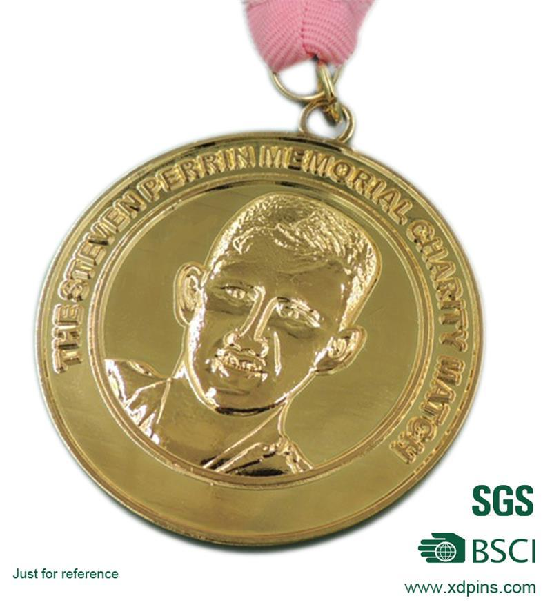 New Design Personalized Gold Medal