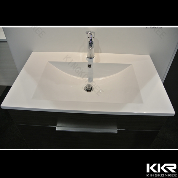 Stone Acrylic Solid Surface Basin Bathroom Wash Basin