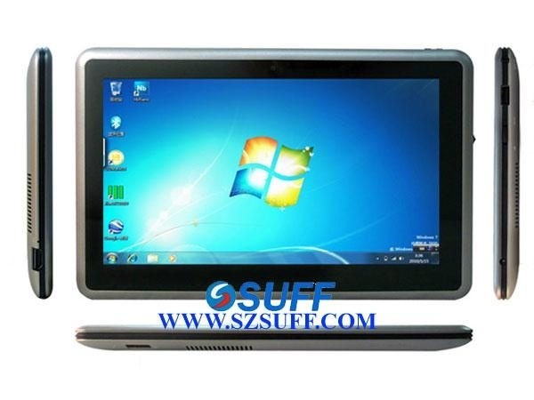 10.1 Inch Capacitive Touch Screen Intel Atom Z670 Windows 7/Android