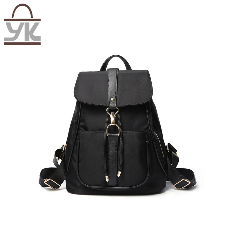 Good Quality Fashion Multifuntion Nylon Lady Backpack