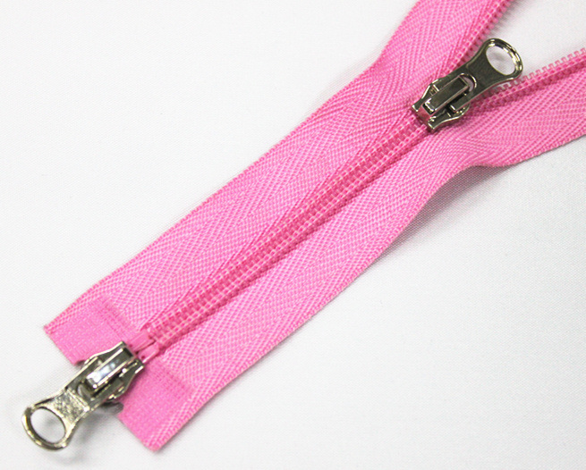 No. 4 Nylon Zipper with Metal Slider