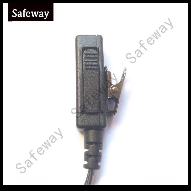 2 Wire Surveillance Kit Headset for Motorola Cp200