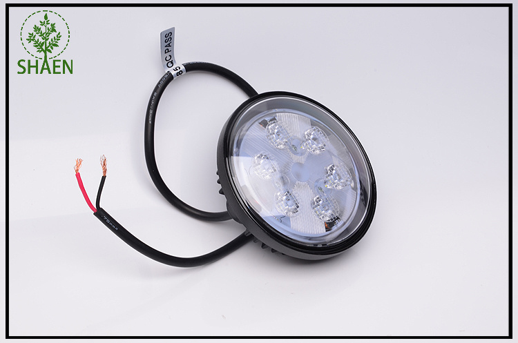 IP67 18W Round LED Car Driving Work Light