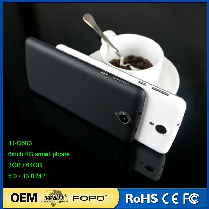 Shenzhen Factory OEM 6 Inch Quad Core 4G Smart Phone