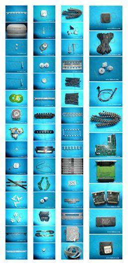 Olivetti Pr2e Printer Parts /PAR Roller Mainboard