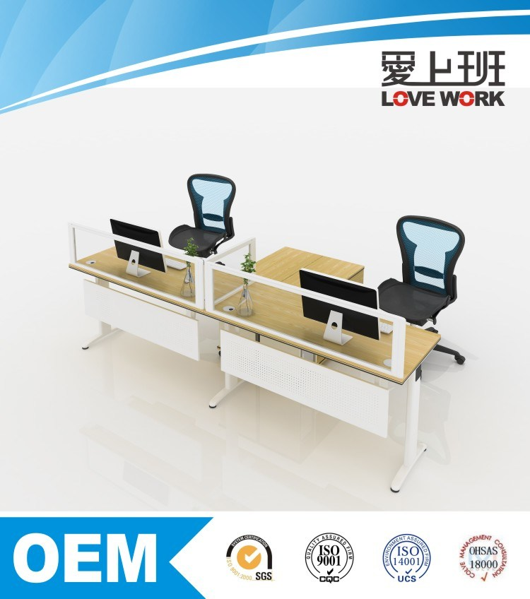 2016 Modern Open Office Workstation for 2 Person