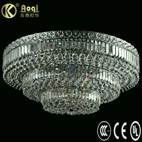 Modern Design Luxury Crystal Ceiling Lamp (AQ40001-24+17C)