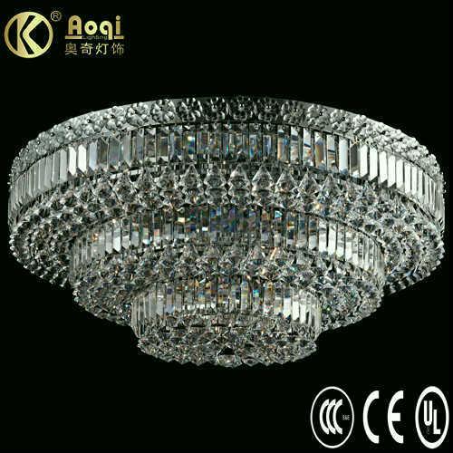 Modern Design Luxury Crystal Ceiling Lamp (AQ40001-24+17C)