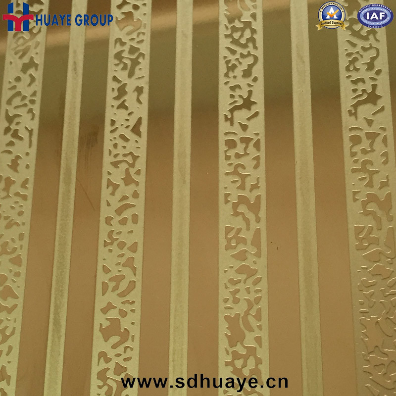 Huaye Stainless Steel Sheet Embossed Decorative Color for Home Decor