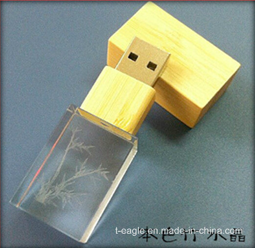 CE Approved 4GB Gift Crystal USB Flash Drive (FD-207)