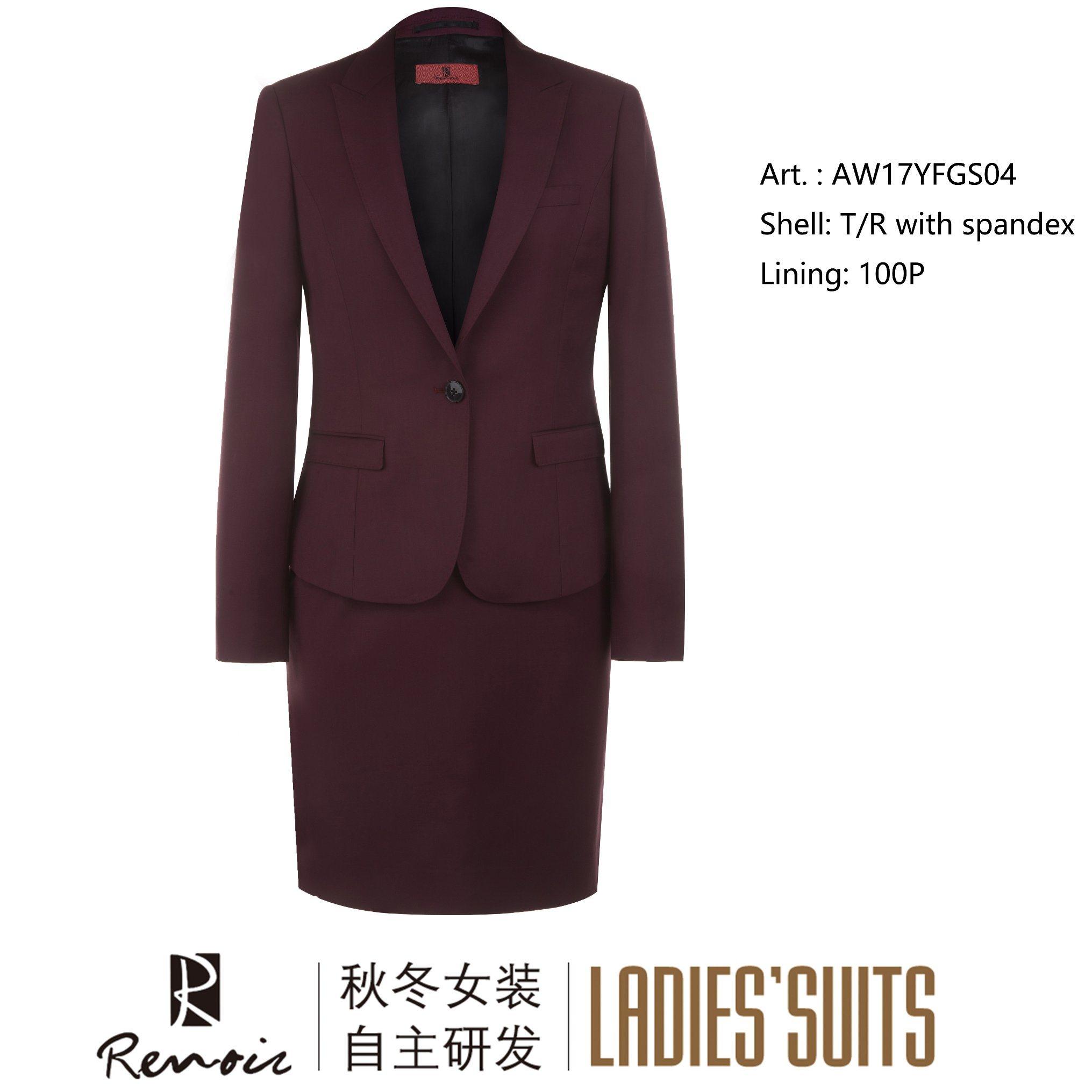 OEM 2 Piece Peak Lapel Business Suit