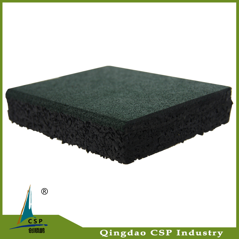 Gym Rubber Flooring Tile for Outdoor
