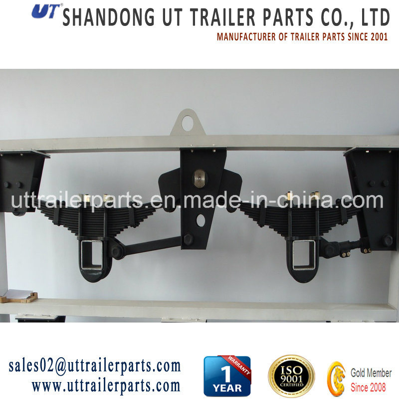 China BPW Style Suspension/2/3 Axles/Overslung/Undeslung/Semi Trailer Suspension