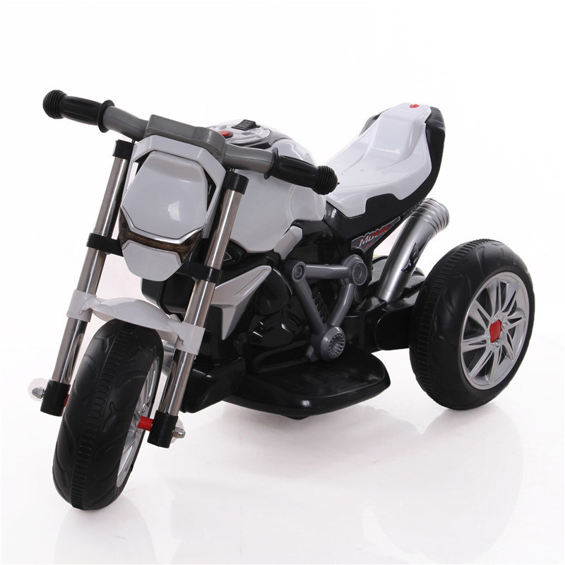 Newest Model Three Wheels Kids Electric Motorcycle Battery Power