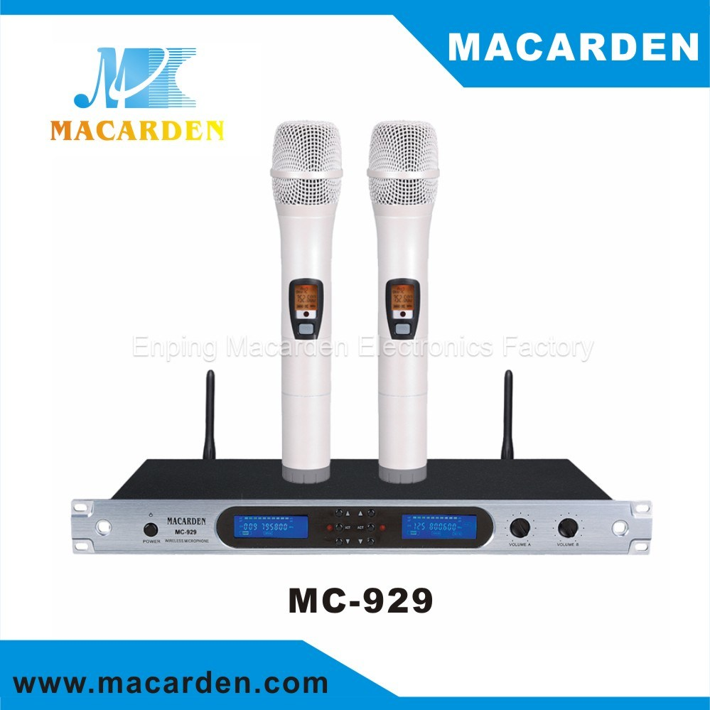 New Designed Infrared Wireless Microphone (MC-929)