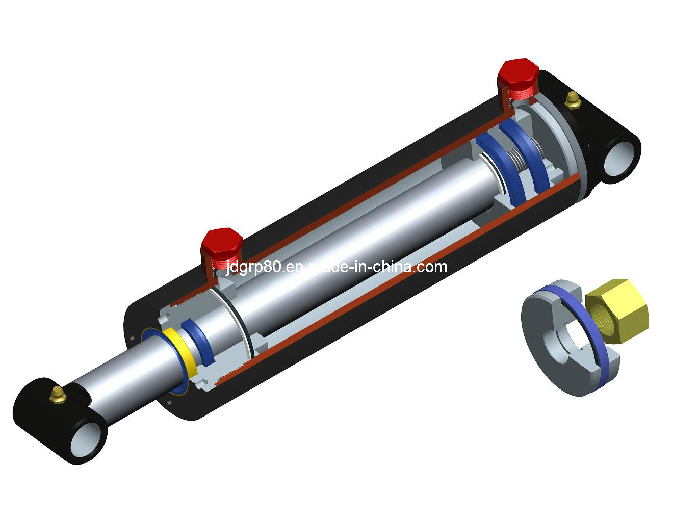 3000 Psi Double Acting Hydraulic Cylinder (CY)