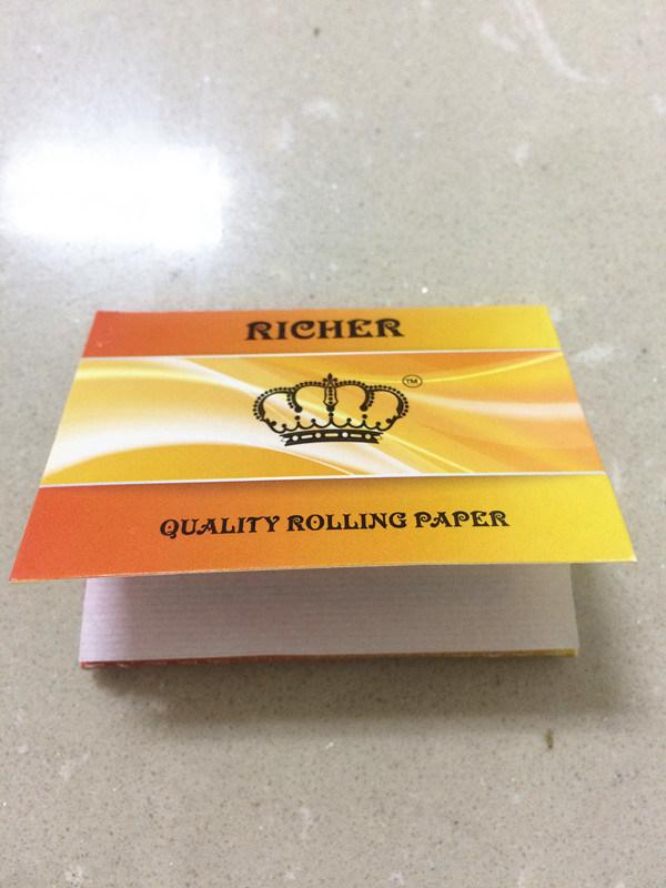 Thin Regular Size Premium Rolling Paper, Natual Arabic Gum Paper