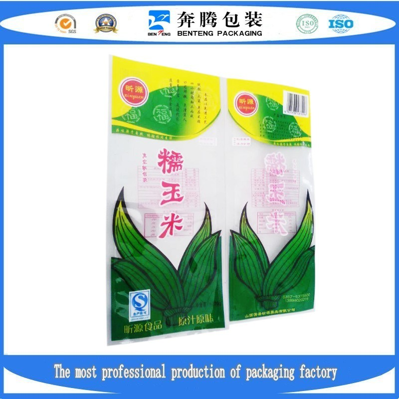 Corn Vacuum Plastic Packing Bags
