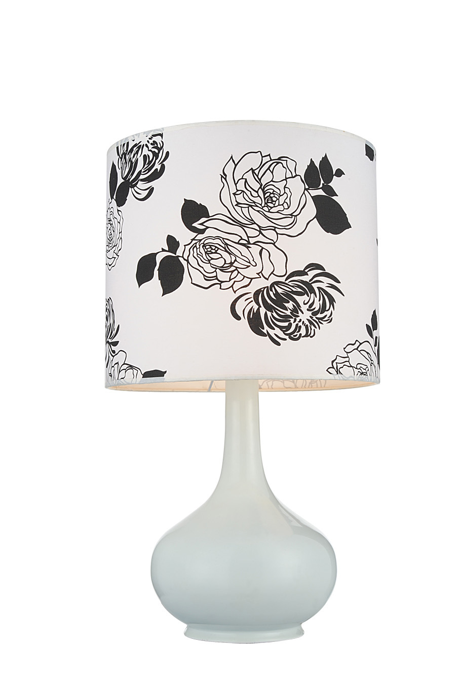 Modern Flower Lampshade Resin Table Lamps for Bedroom (GT8330-1)