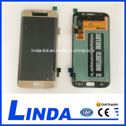 Mobile Phone LCD for Samsung S6 Edge G925 LCD Assembly
