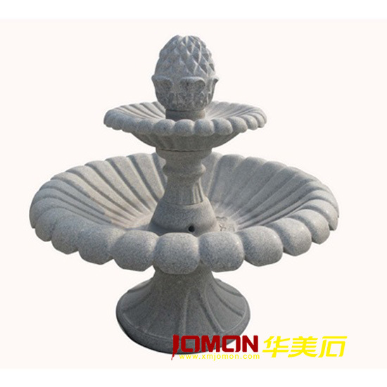 Granite Marble Stone Garden Water Fountain for Decoration (XMJ-FT08)