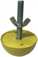 Rubber Recess Former with Threaded Rod Precast Building Material