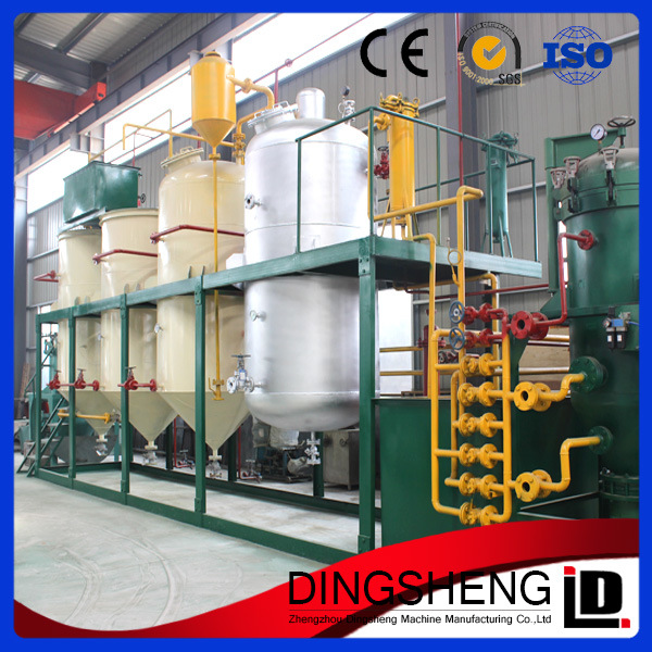 1t-5tpd Mini Soya Oil Refinery Plant
