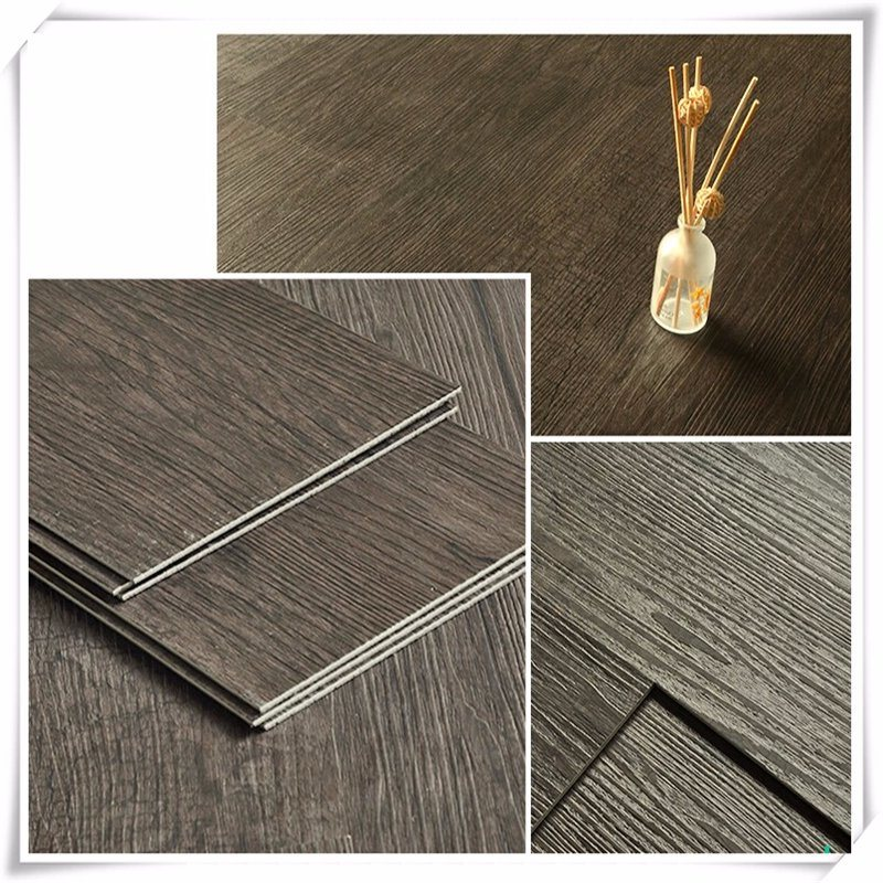 Wood Grain PVC Plastic Floor Cover