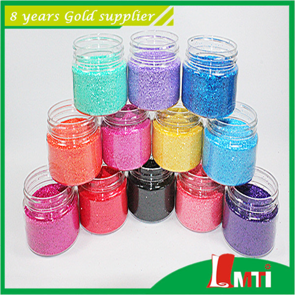 Hot Embossing Pet Glitter for Leather Fabric