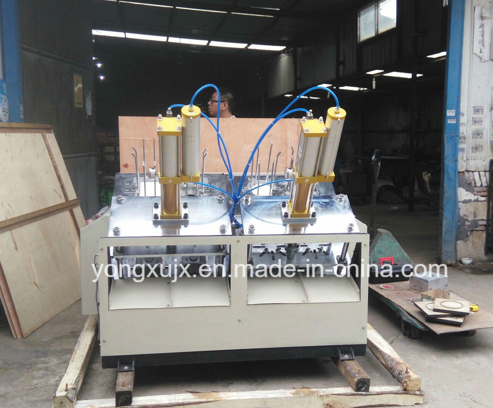 120-150PCS/Min Paper Plate Making Machine, High Speed Paper Dish Machine, Paper Plate Machine