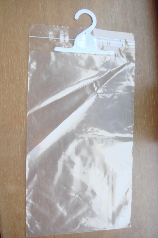 Custom Printed LDPE Hanger Ziplock Bags for Underwear (FLH-8704)