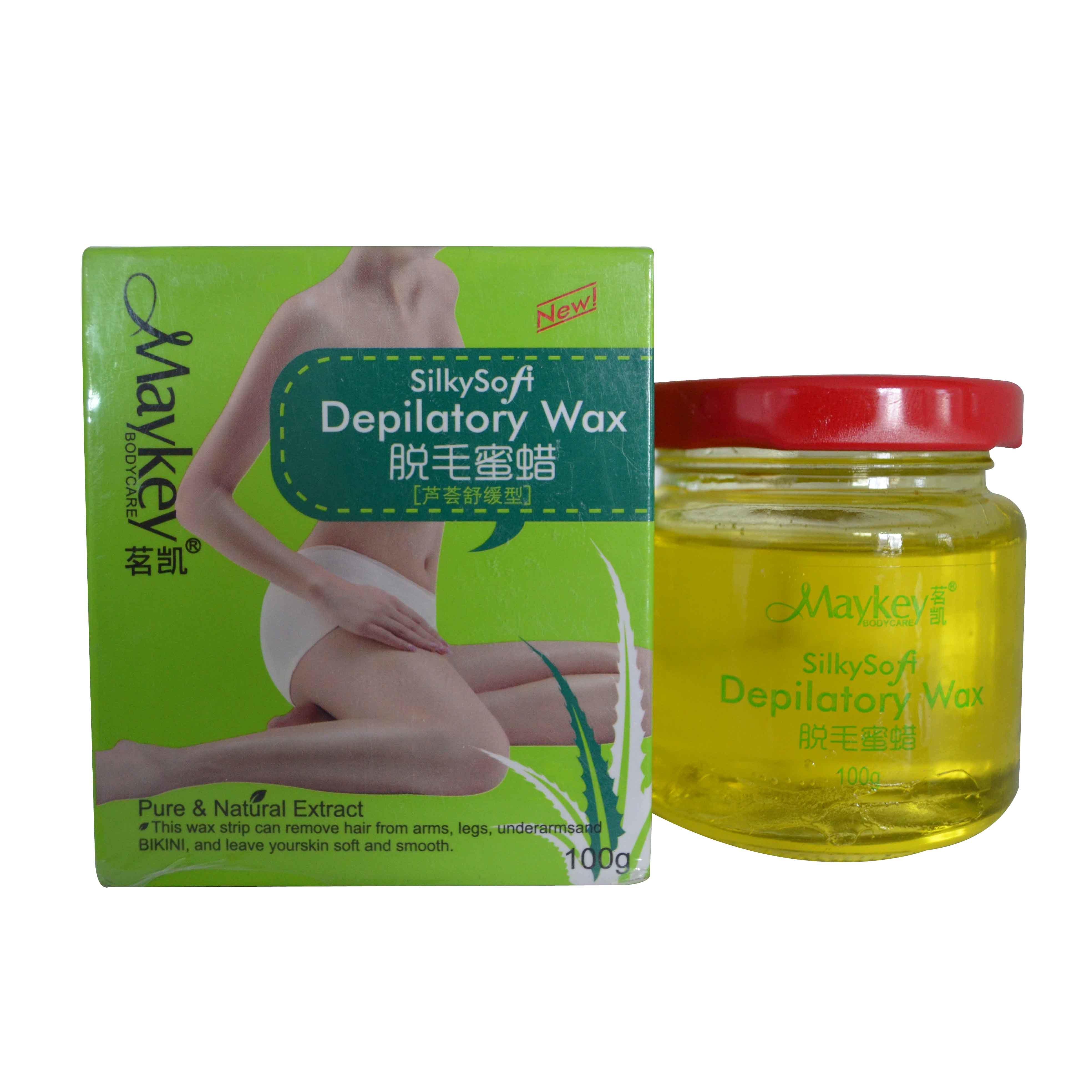 Maykey Silkly Depilatory Wax (Aloe Vera) 100g