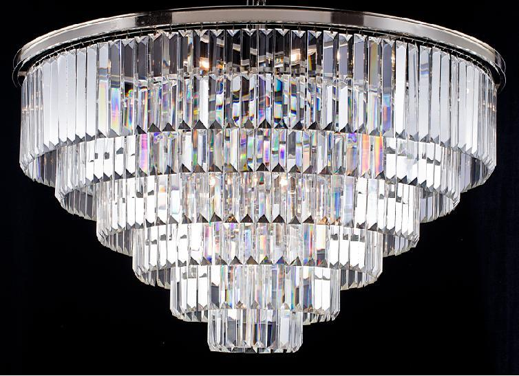 Classic Round Crystal Chandelier Lamp (WHG-630)