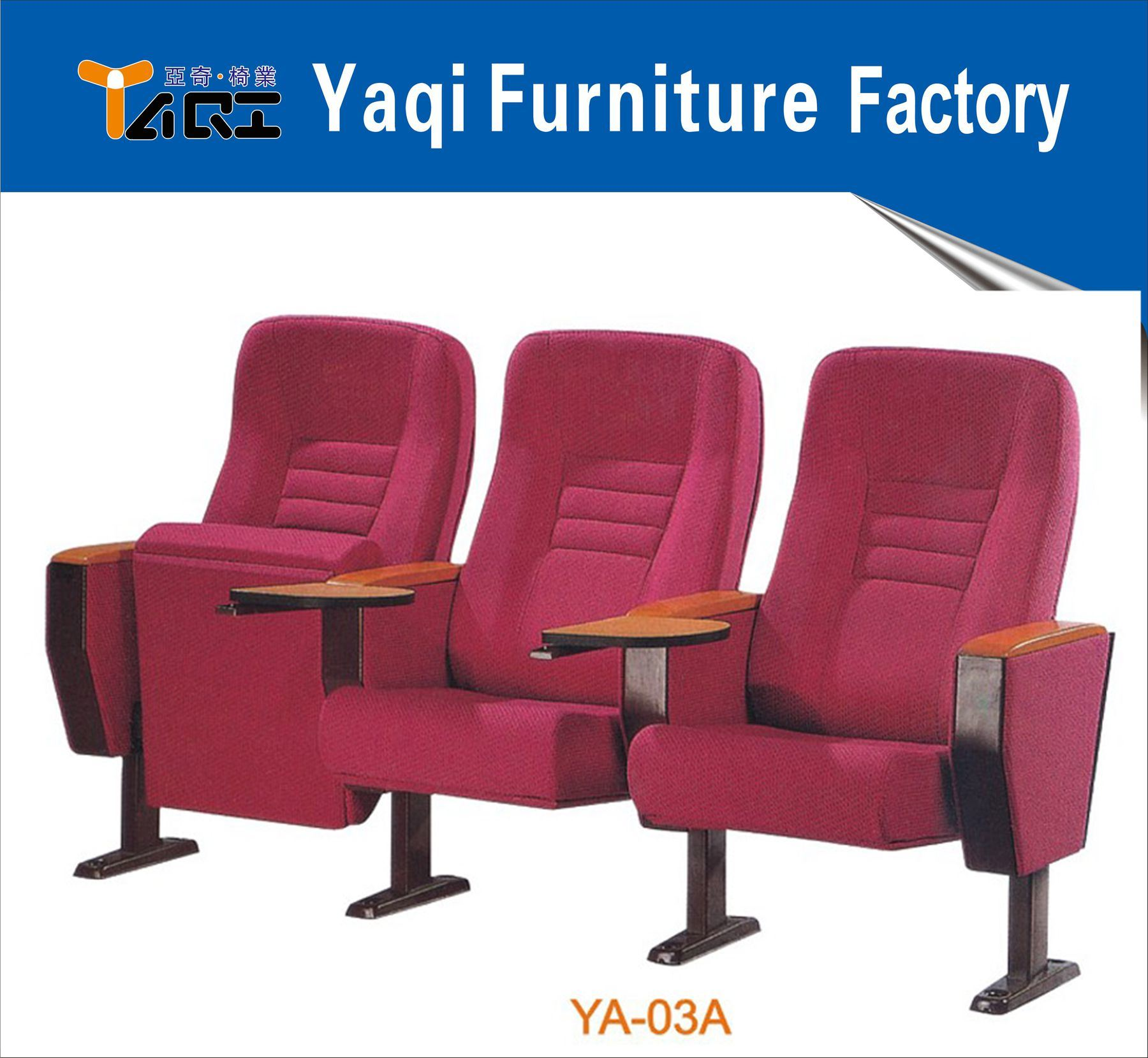 Theater Furniture, Good Quality Price Theater Chair (YA-03A)