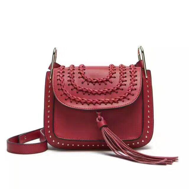 New Desinger Style Genuine Leather Ladies Cross Body Sling Messenger Bag Factory