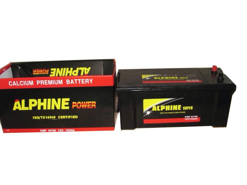 SMF Car Battery/N150 12V150ah Mf Starting Battery