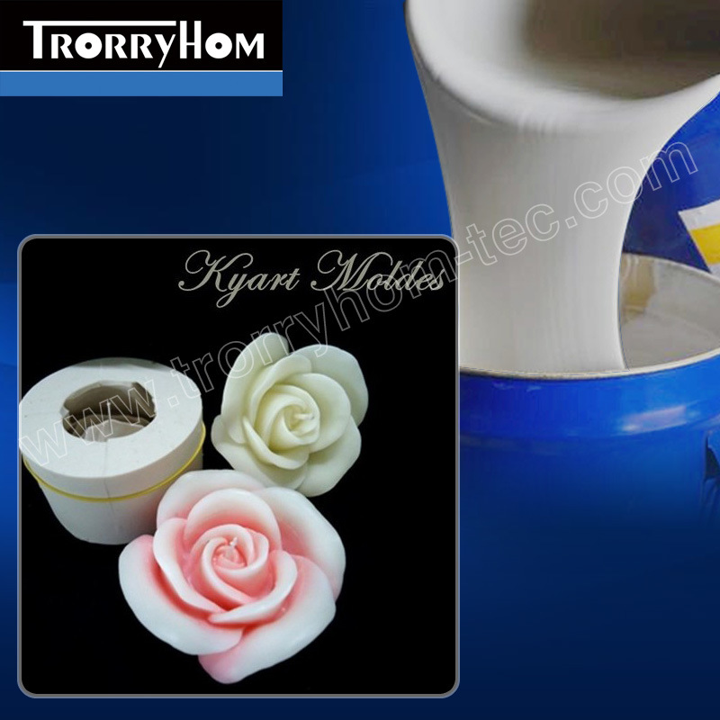 RTV-2 Liquid Silicone Rubber for Candle Molds