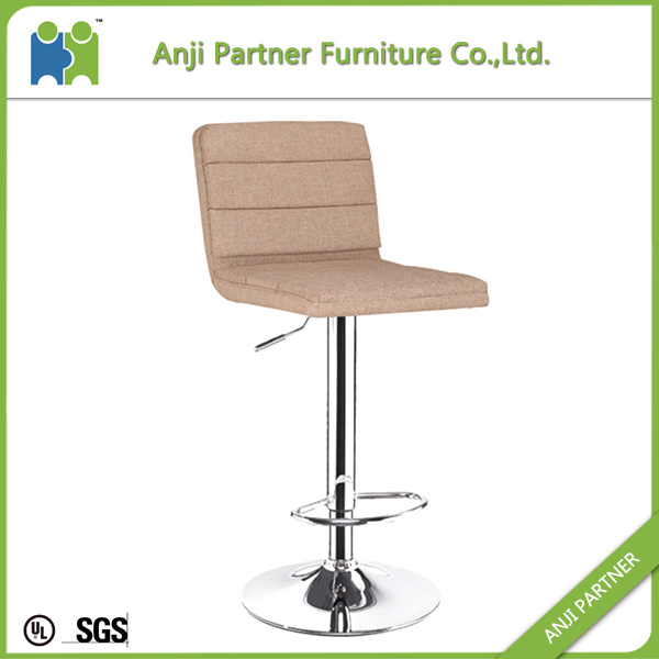Low Price Modern Comfortable Fabric Cover, Foam Inside Bar Stool Chair Legs (Wukong)