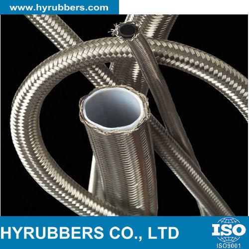 SAE 100 R14 Stainless Steel Braided Teflon Hose