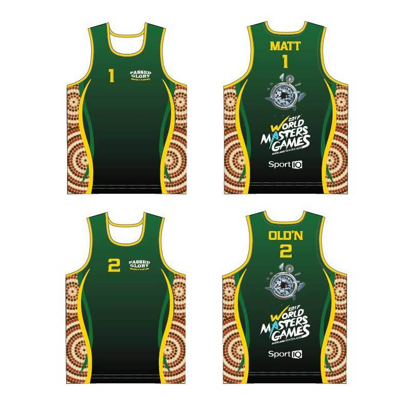 New Design Sports Singlets Running Wears with Dry Fit