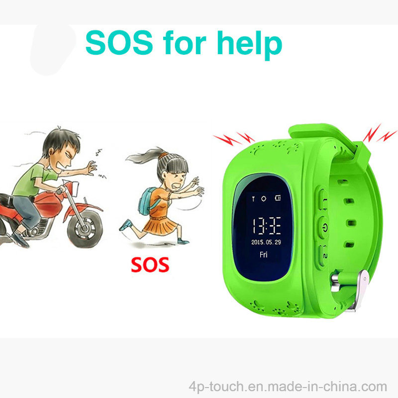 Kids GPS Tracker Watch with Sos Function for Child (Y2)