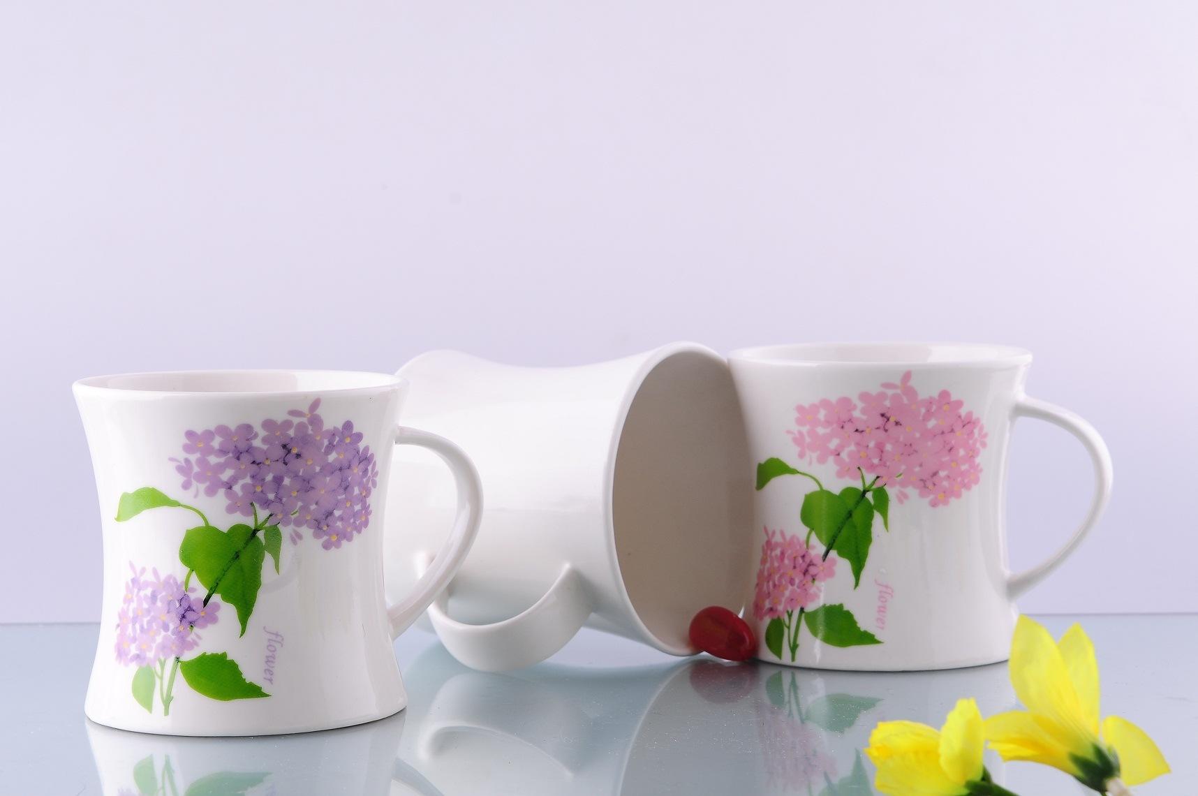 New Bone China Waist Mug (CZJM1142)