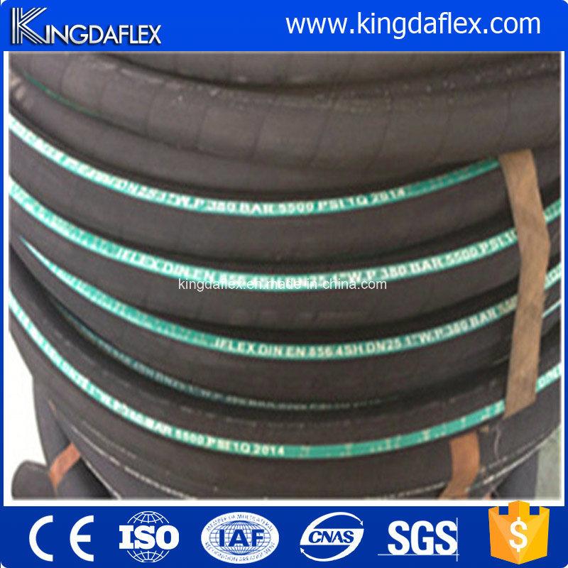 R12/4sp/4sh Flexible High Pressure Hose/ Hydraulic Rubber Hose/ Oil Hose