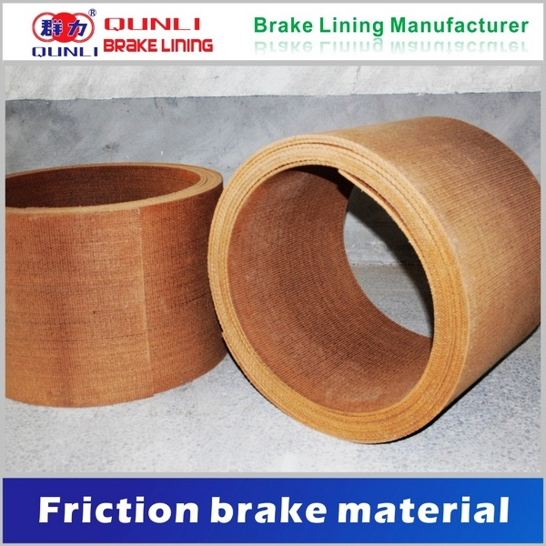 Woven Brake Lining Material : China asbestos woven resin brake lining in roll with wire