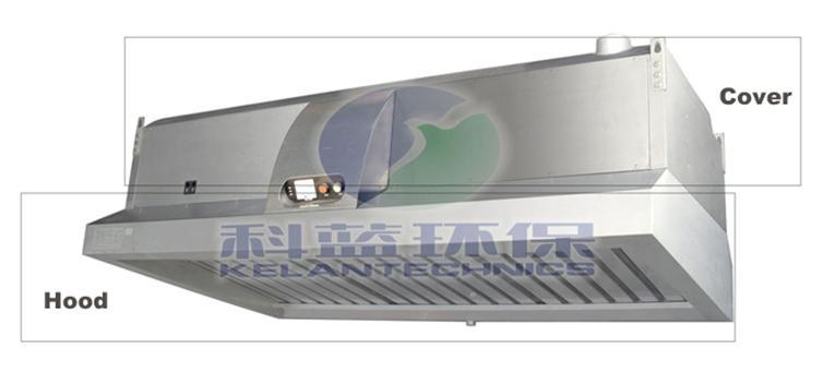 China All in e Kitchen Range Hood Exhaust Vent & ESP