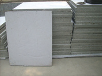 China Foam Concrete Fire Proof Door Wall Panel China